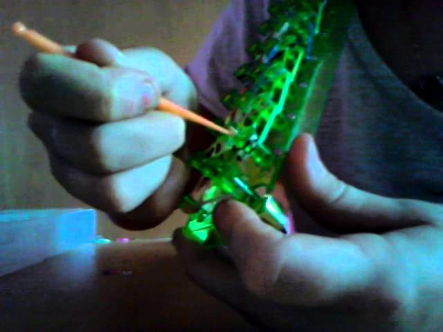 Bracelet Rainbow loom chouchou