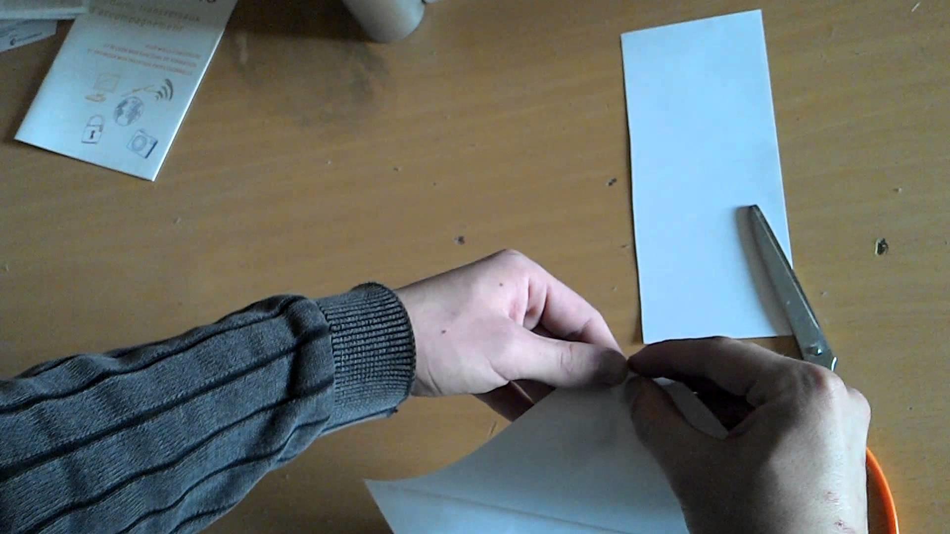 comment faire une jolie origami en moins de 2 min. Black Bedroom Furniture Sets. Home Design Ideas