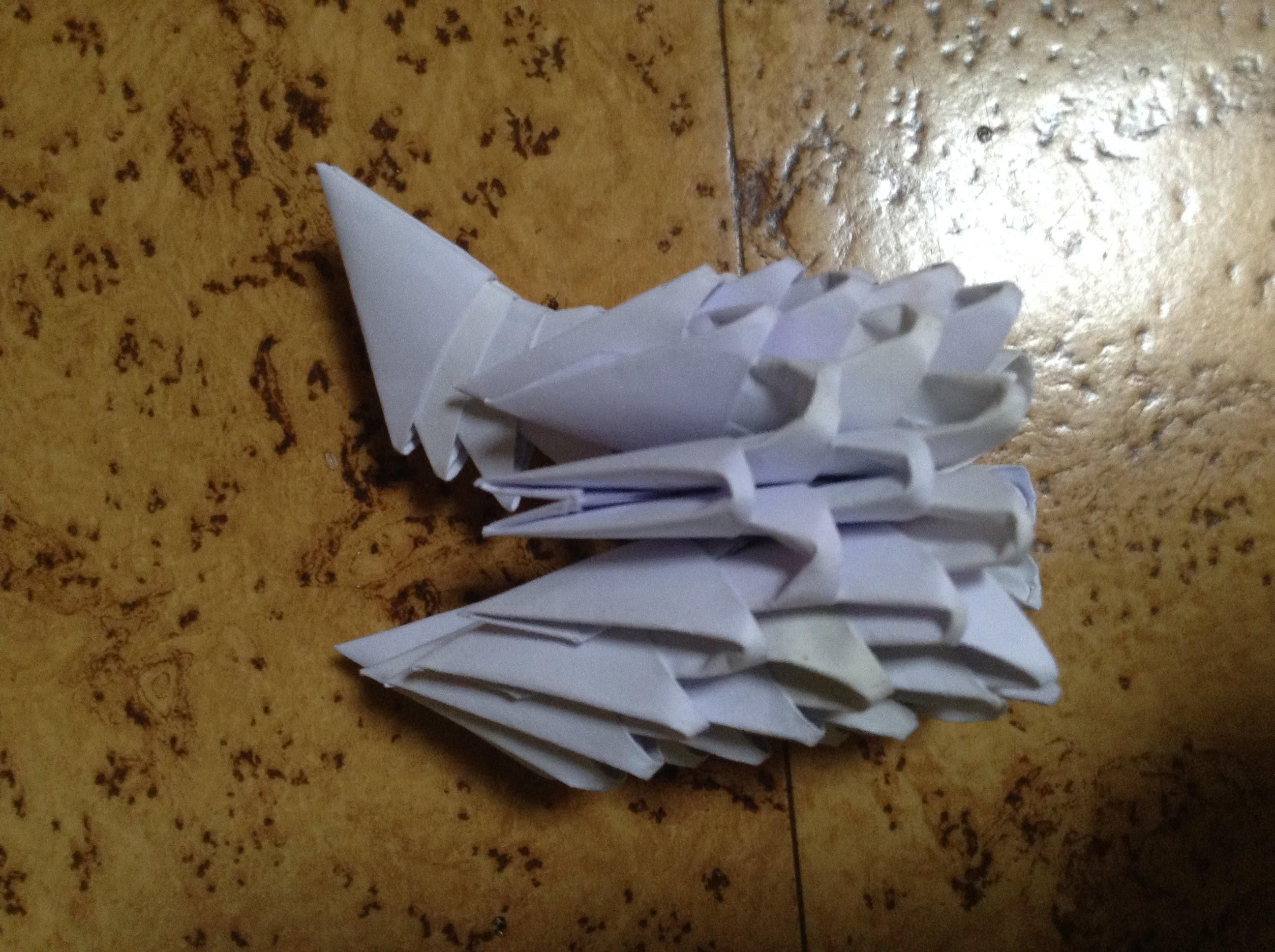 Comment réaliser des triangles pour 3D origami