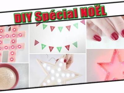 DIY de Noël : Décorations, lettres lumineuses, boisson chaude, manucures (récap. des vlogmas)