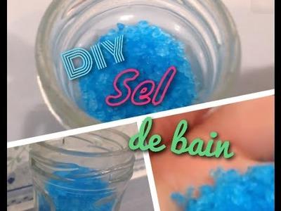 [DIY n°16] Sel pour le bain
