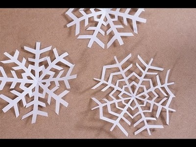 DIY Noël : Flocon de neige en papier