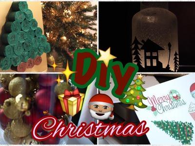 DIY pour Noël: Calendrier de l'Avent, Lanterne, Pull & Jarre