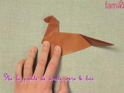 Fabriquer un cheval en origami