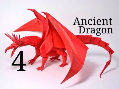 Origami Ancient Dragon tutorial - Satoshi Kamiya (part 4)