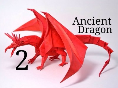 Origami Ancient Dragon tutorial - Satoshi Kamiya (part 2)