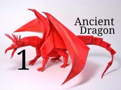Origami Ancient Dragon tutorial - Satoshi Kamiya (part 1)