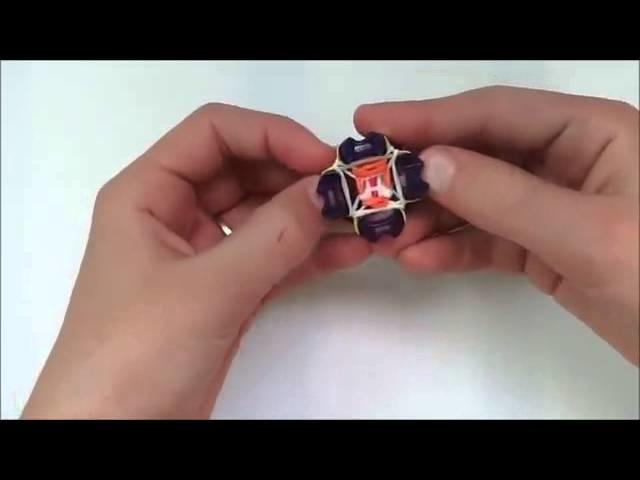 Rainbow loom des pays bas Comment faire un bracelet Phoenix sur le doigt bandes Loom Loom
