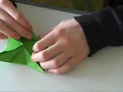 Toupie en origami