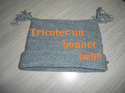 Tricoter un bonnet bébé facile