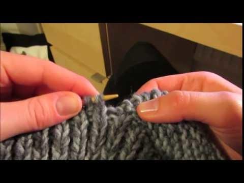 Tuto chaussons adulte en tricot facile