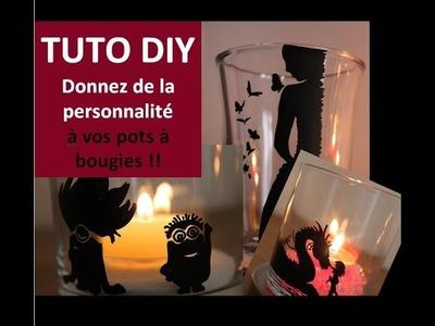 Tuto DIY Donnez de la personnalité à vos pots à bougies avec les crayons Posca - Cécile Cloarec