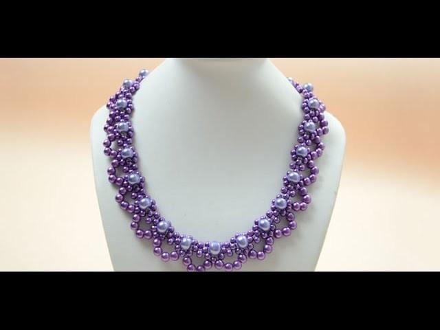 Tutorial Vidéo pour la Creation de Bijoux PandaHall-Comment faire un collier joli pour la mariée