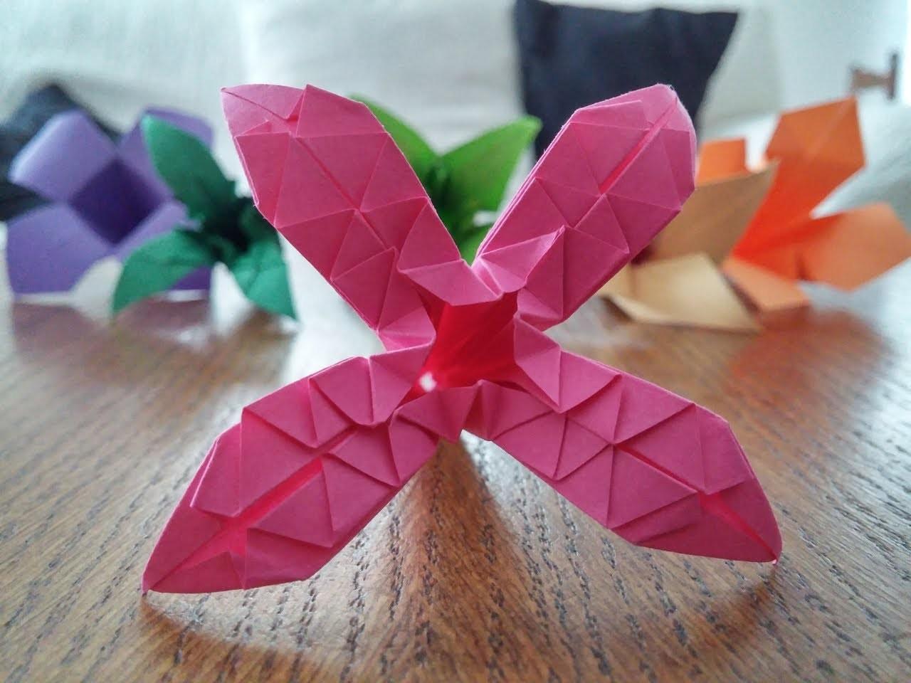 "Tutoriel Origami Flower - ""Cristal Star"""