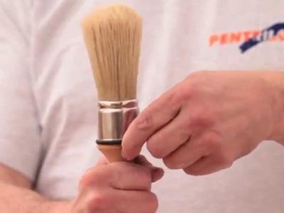 Brosse avec crochet