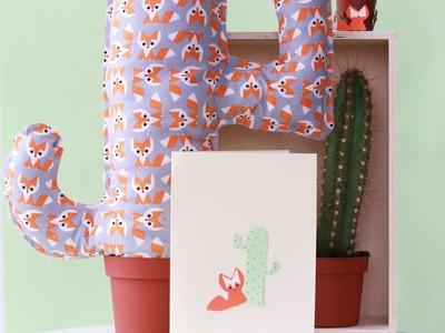 DIY Coussin Cactus sans couture | SP4NK BLOG