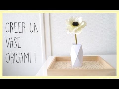[diy] Créer un Vase Origami ! - Zaïna -