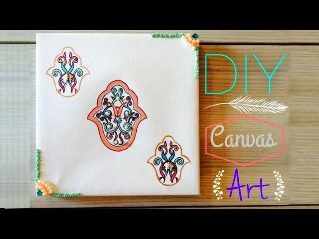 DIY   Wall Canvas Art