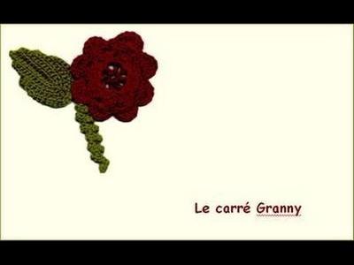 Le carré Granny au crochet ou carré old América.