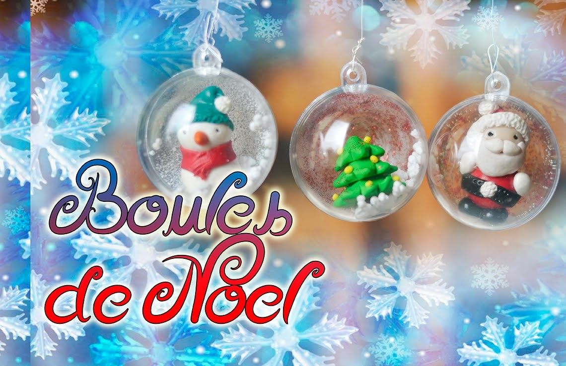 [TUTO Fimo] Boule de Noel I Polymer clay