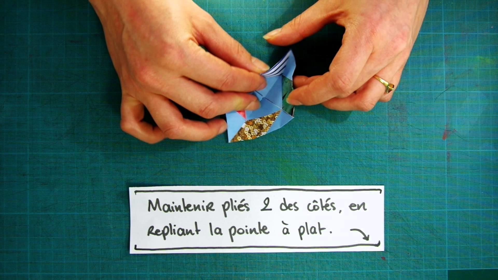 Tuto Kan-In Origami : Kazaguruma - Le Moulin