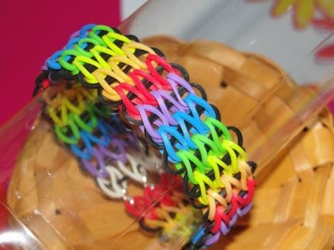 Tutoriel rainbow loom bracelet