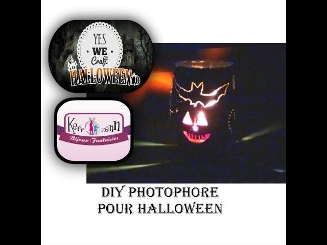 #YWC6HALLOWEEN DIY photophore halloween