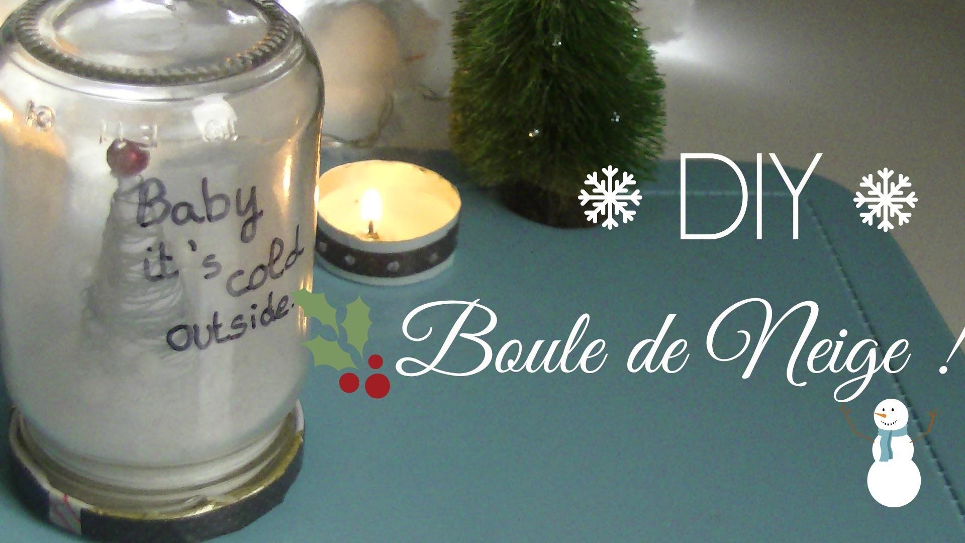 ⎪⎪Christmas ⎪⎪ DIY : La Boule de Neige !