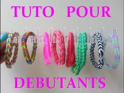 DIY : Bracelet LOOM BANDS pour débutante. (Français)