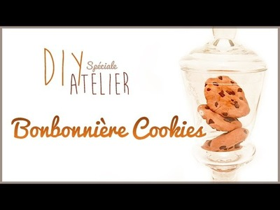 DIY d'Atelier#3: Bonbonnière Cookies avec la Pâte Puffy d'Ayla Création