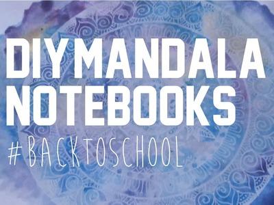 DIY Mandala Notebooks - Flocoquelicot