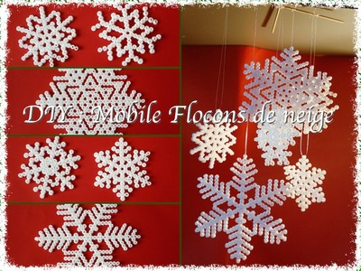 DIY : Mobile Flocons de Neige