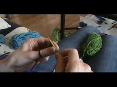 [Tricot] Rentrer le fil de montage sans aiguille de couture