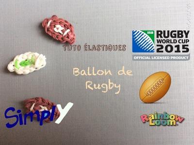 {Tuto} Ballon de rugby en élastiques Rainbow Loom | Simply