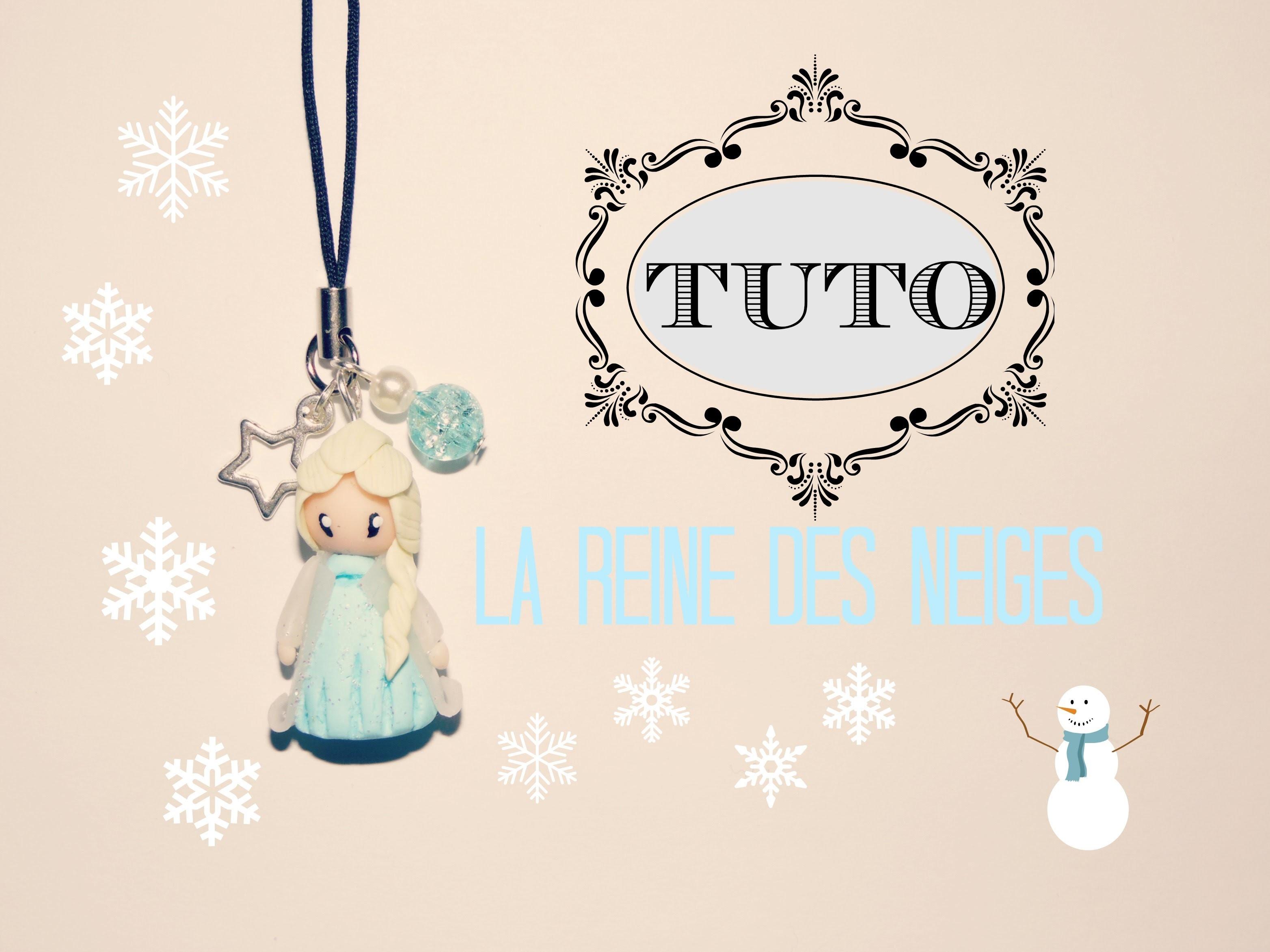 TUTO FIMO → La reine des neiges. Elsa - Frozen Polymer clay Tutorial