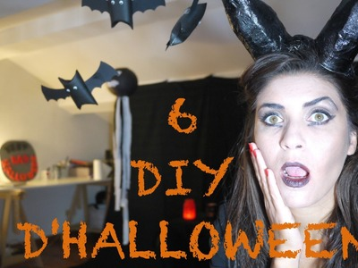 6 DIY D'HALLOWEEN - avec Heidi. changeledecor.com