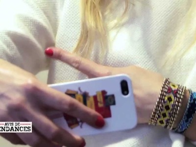 DIY bijoux strass : earcuff de it-girl et bracelets brésiliens revisités