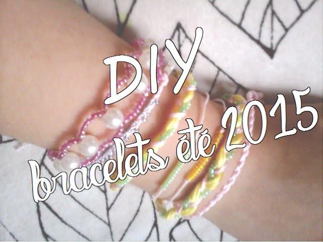DIY bracelets 2015