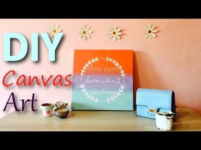 DIY | Canvas Art | Room Decor ❀