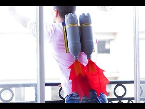 DIY déguisement enfant : Turbo Fusées