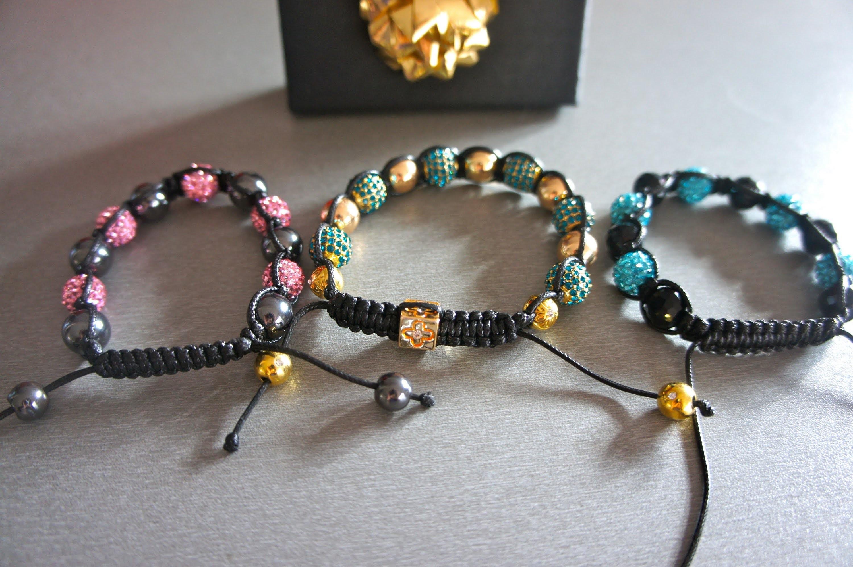 """J'ai découvert les Bracelets """"Shamballa"""" ! Revue Coup de ♥ + Code Promo !"""