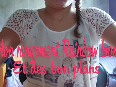 △ Life Summer ▽ ♡ Mon Rangement Rainbow Loom et bon plans