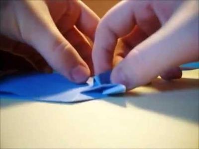 Origami : comment faire un sachet en forme de poissson