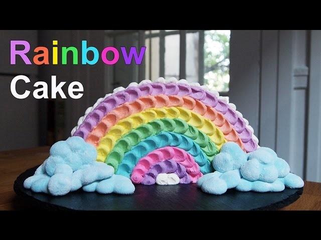 rainbow cake g teau arc en ciel carl arsenault. Black Bedroom Furniture Sets. Home Design Ideas