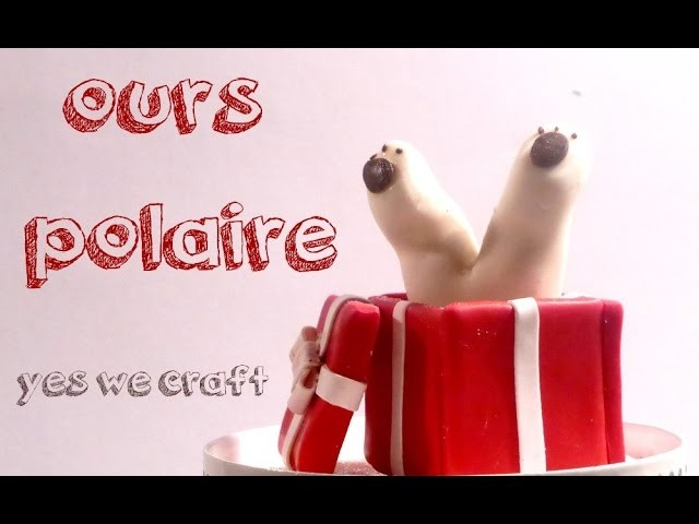 [Yes We Craft ll Xmas edition] 9# Ours Polaire. Polar Bear