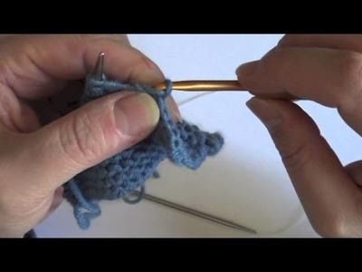 Astuce tricot : Rabattre les mailles avec un fil trop court