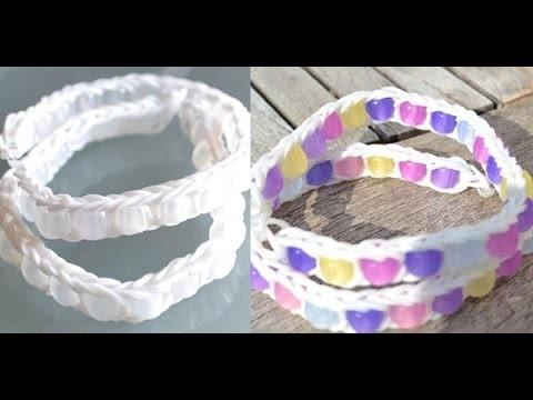 Bracelet élastique avec des perles magiques - How to Make a Bead Ladder Bracelet DIY