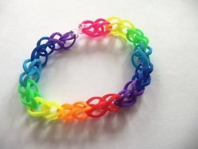 Bracelet rainbow loom facile en français
