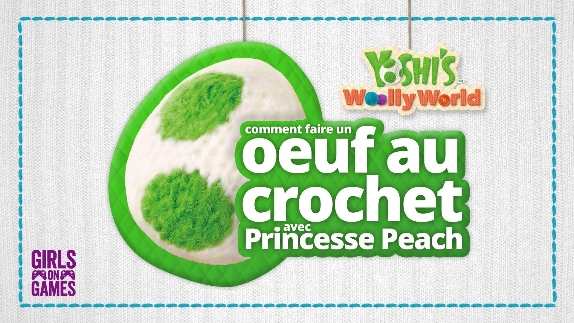 Comment faire un oeuf au crochet avec Princesse Peach! (Tuto)