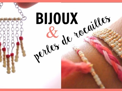 [DIY] Bijoux & perles de rocailles